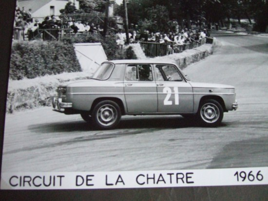 Alain SERPAGGI soutient le circuit de Charade