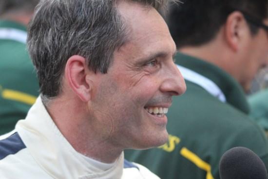 Alex CAFFI soutient le circuit de Charade