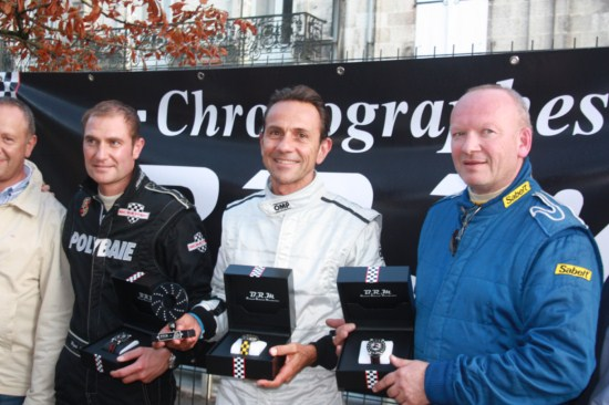 Erik COMAS soutient le circuit de Charade