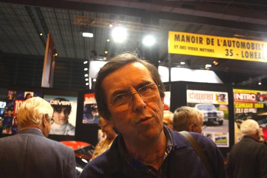 François CHATRIOT soutient le circuit de Charade