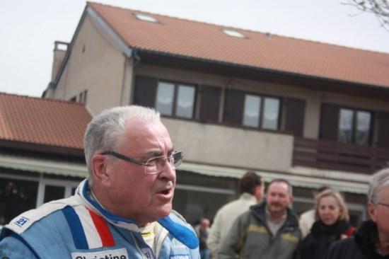 Guy FREQUELIN soutient le circuit de Charade