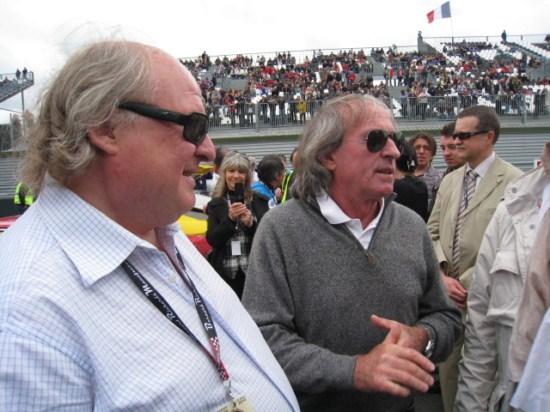Jacques LAFITTE soutient le circuit de Charade
