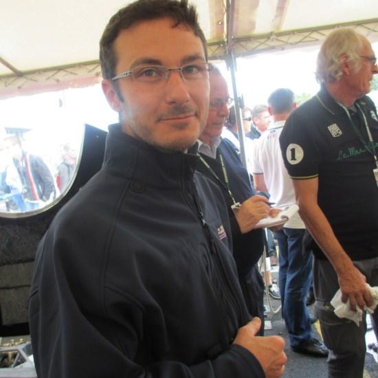 Loic DEPAILLER soutient le Circuit de Charade