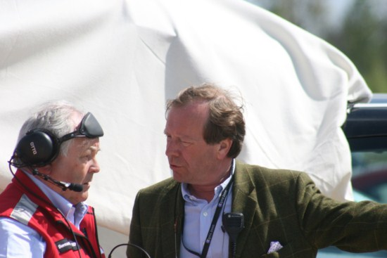 Patrick PETER soutient le Circuit de Charade