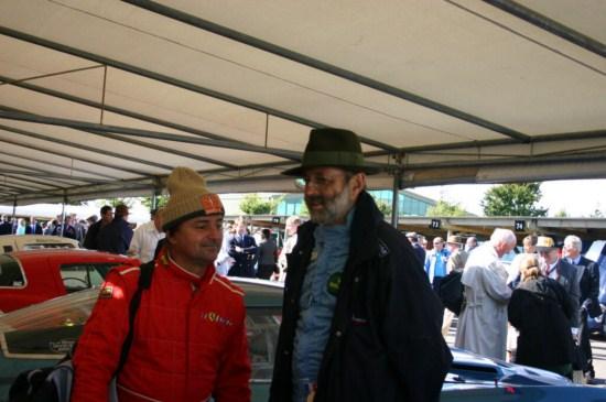 René ARNOUX soutient le Circuit de Charade