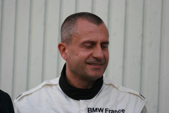 Yannick DALMAS soutient le Circuit de Charade