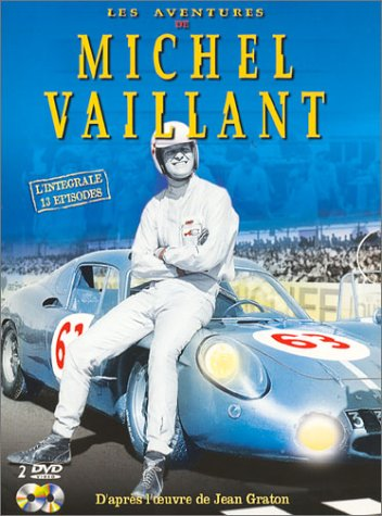 Henri GRANDSIRE, alias Michel VAILLANT, soutient le circuit de Charade.