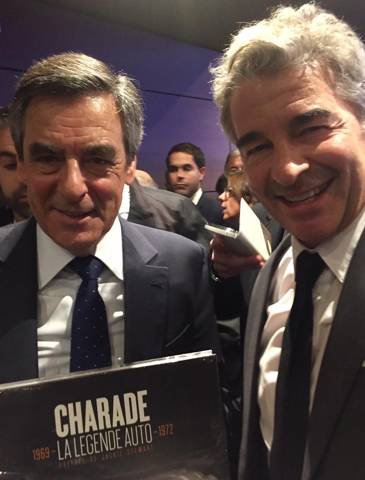 François FILLON soutient le circuit de Charade
