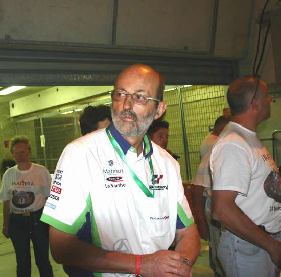 Henri PESCAROLO soutient le circuit de Charade