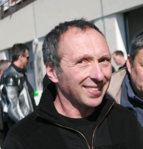 Guy BERTIN soutient le Circuit de Charade