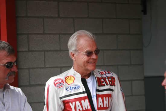 Dieter BRAUN soutient le Circuit de Charade